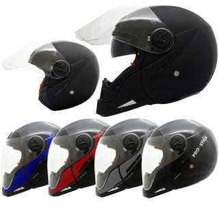 View Item Stealth Transformer Dual Sport Motorcycle Helmet