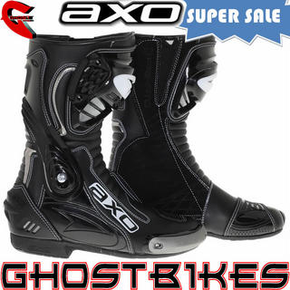 View Item Axo Primato WP Motorcycle Race Boots