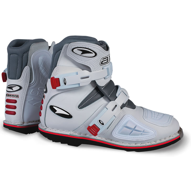 AXO SLAMMER SHORT ENDURO PIT BIKE ATV MOTOCROSS MOTORCYCLE BOOTS ...