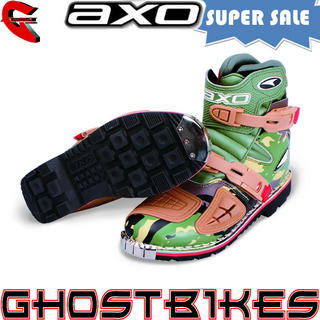 View Item Axo Slammer Short Motocross Enduro Boots