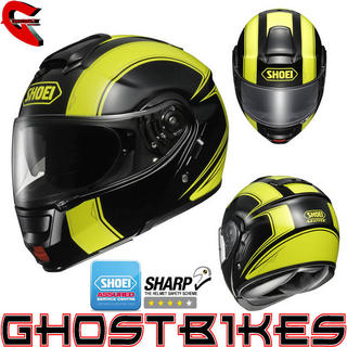 View Item Shoei Neotec Borealis 2013 Motorcycle Helmet