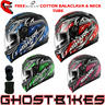 View Item Shark S700-S Jost Motorcycle Helmet + FREE Balaclava + Neck Tube