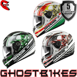 View Item Shark S700-S Circus Motorcycle Helmet