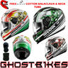 View Item Shark S700-S Circus Motorcycle Helmet + FREE Balaclava + Neck Tube