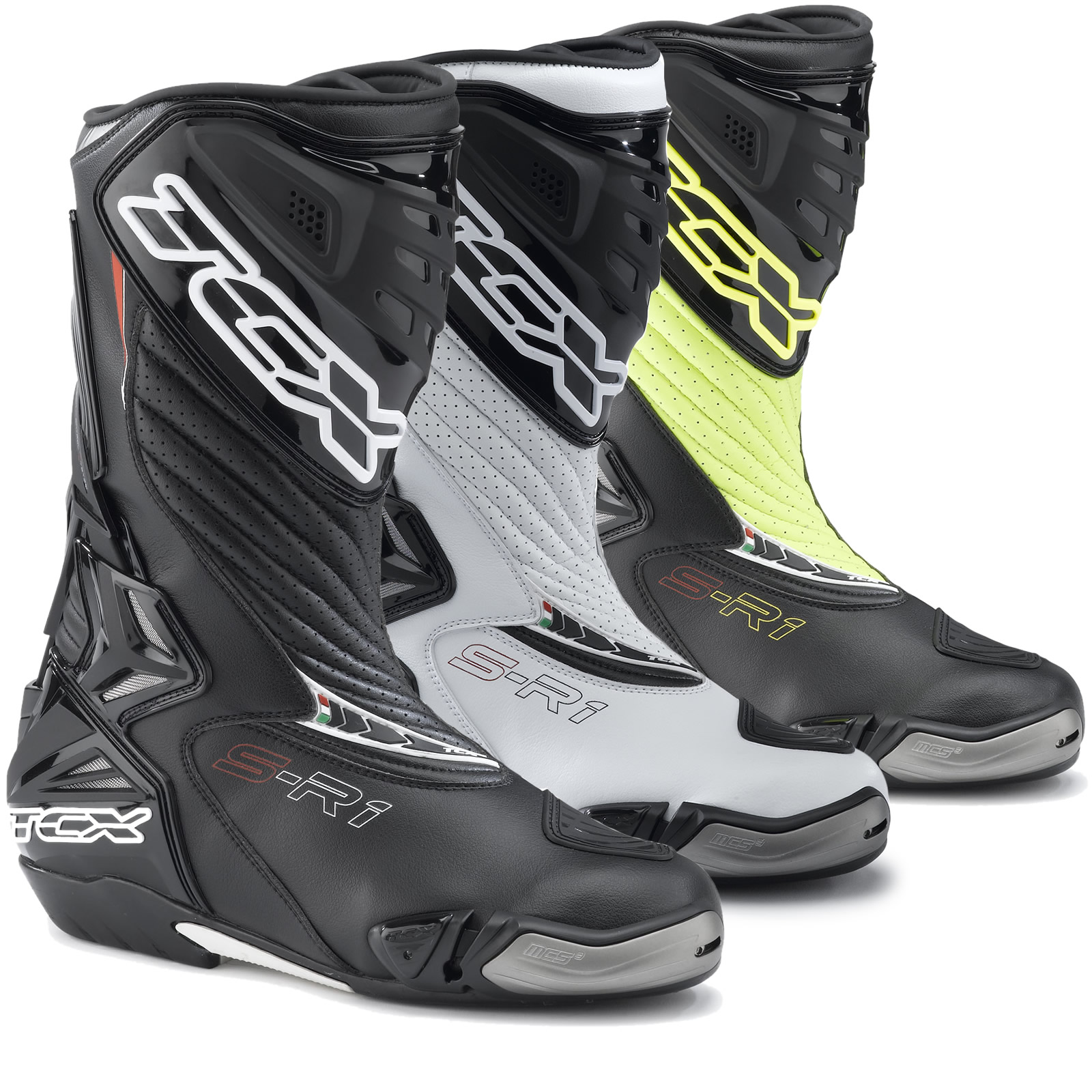 Tcx S R1 Leather Motorcycle Motorbike Ce Approved Sports