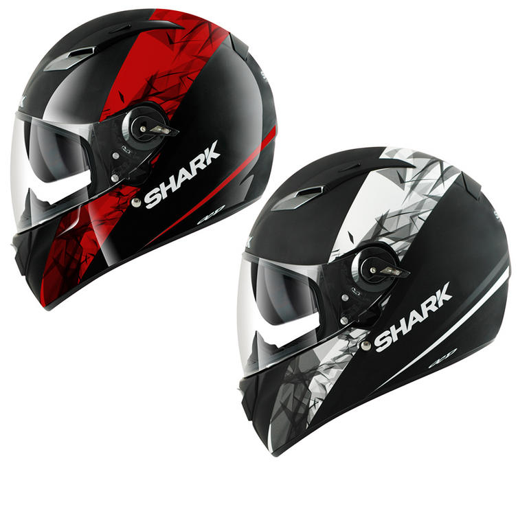 shark vision r kinum motorcycle helmet full face helmets. Black Bedroom Furniture Sets. Home Design Ideas