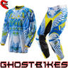 View Item Oneal Hardwear 2013 Cobra Blue-Yellow Motocross Kit