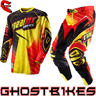 View Item Oneal Hardwear 2013 Racewear Red-Yellow Motocross Kit