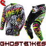 View Item Oneal Hardwear 2013 Automatic White-Neon Motocross Kit
