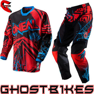 View Item Oneal Mayhem 2013 Roots Red-Black Motocross Kit