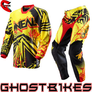 View Item Oneal Mayhem 2013 Roots Yellow-Red Motocross Kit