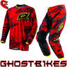 View Item Oneal Element 2013 Toxic Red-Yellow Motocross Kit