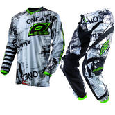 View Item Oneal Element 2013 Toxic Black-Green Motocross Kit