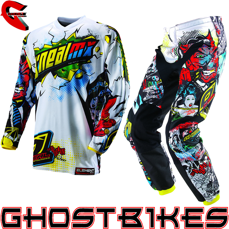 youth motocross jersey pant combo