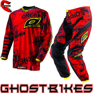 View Item Oneal Element Kids 2013 Toxic Red-Yellow Motocross Kit