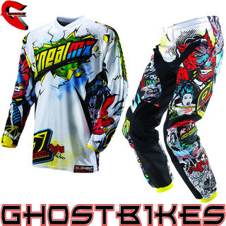 View Item Oneal Element Kids 2013 Villain Motocross Kit