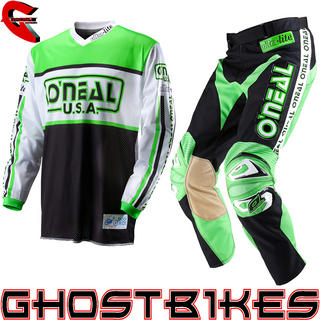 View Item Oneal Ultra Lite LE 83 Black-Green Motocross Kit