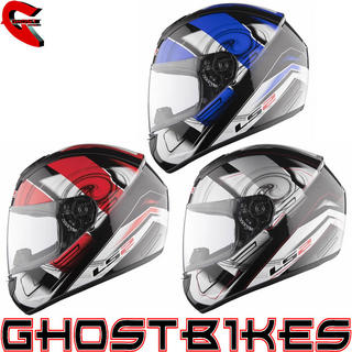 View Item LS2 FF351 Action Motorcycle Helmet