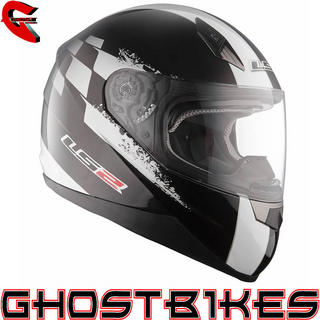 View Item LS2 FF384 Tuner Motorcycle Helmet