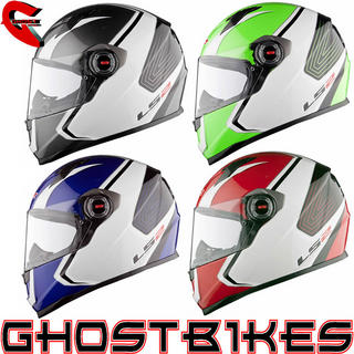 View Item LS2 FF358 Corsa Motorcycle Helmet