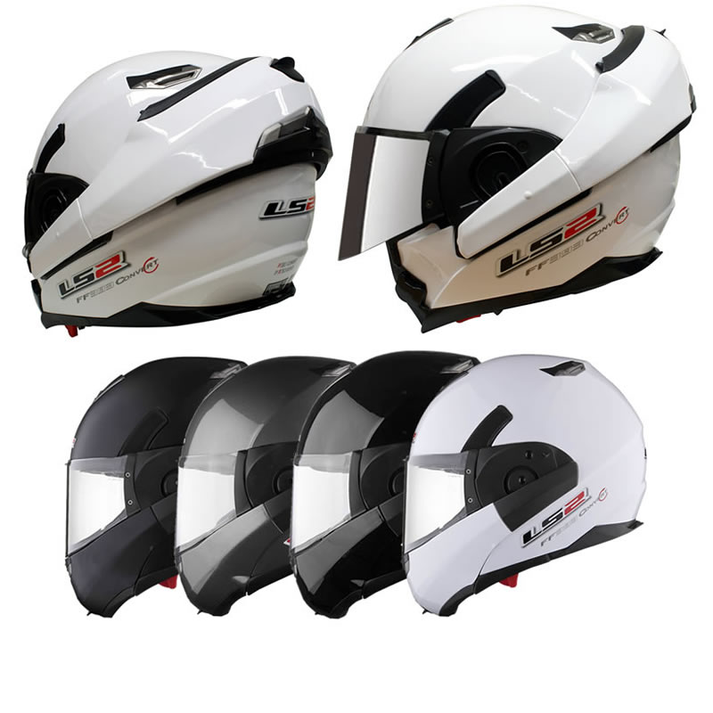 ls2 ff393 1 convert moto scooter casque modulable jet et int gral pare soleil ebay. Black Bedroom Furniture Sets. Home Design Ideas