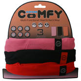 View Item Oxford Comfy Pink/Black/Red 3 Pack