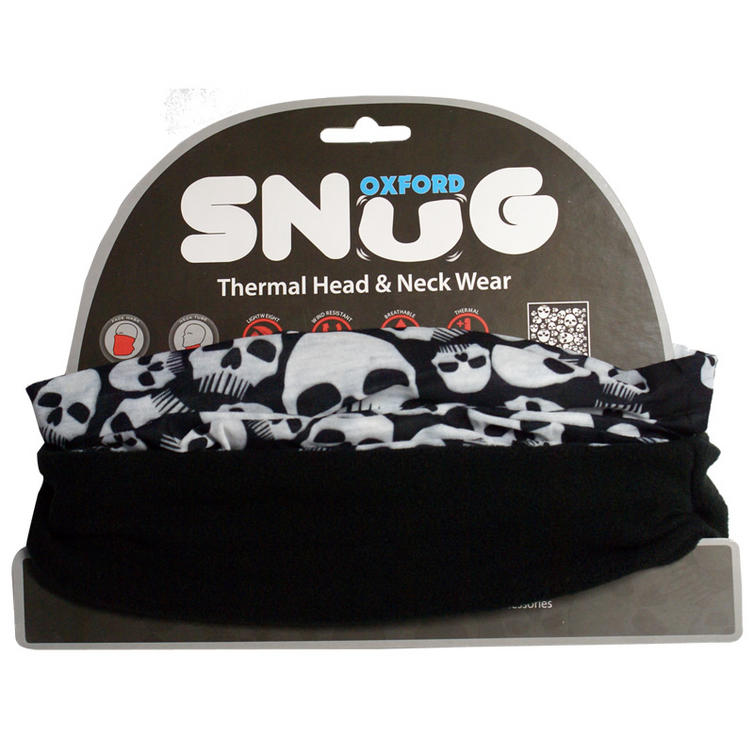 Oxford Snug Skulls Thermal Head & Neck Wear
