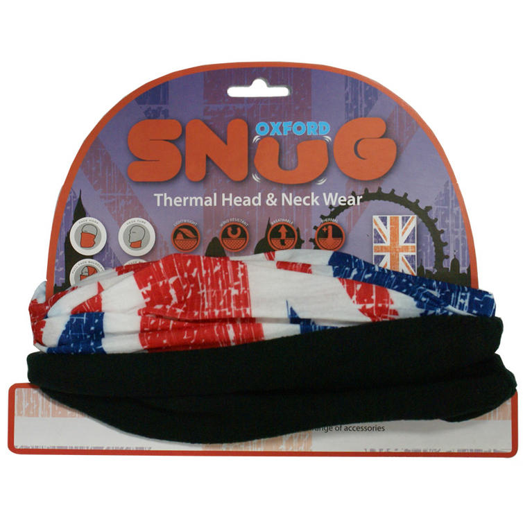 Oxford Snug Patriotic Union Jack Thermal Head & Neck Wear