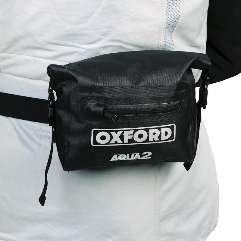 OXFORD AQUA2 WAIST PACK MOTORCYCLE WATERPROOF WAIST BAG AQUA 2L BUM BAG LUGGAGE Enlarged Preview