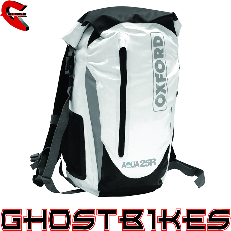 OXFORD AQUA25R BACKPACK MOTORCYCLE WATERPROOF RUCKSACK AQUA 25L ...