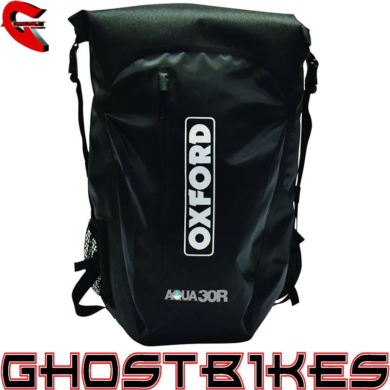 OXFORD AQUA30R BACKPACK MOTORCYCLE WATERPROOF RUCKSACK AQUA 30L ...