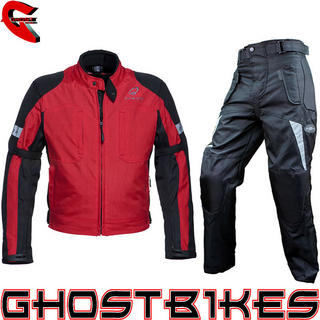 View Item Black Sports Jacket & Roxter Trousers Kit Red