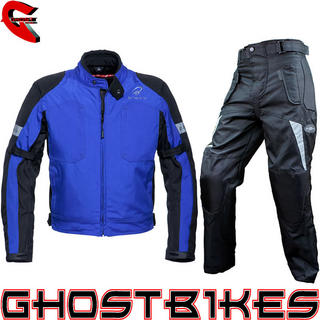 View Item Black Sports Jacket & Roxter Trousers Kit Blue