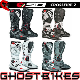 View Item Sidi Crossfire 2 Motocross Boots