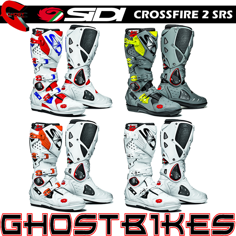 sidi crossfire 2 srs mx enduro moto x motocross off road dirt bike moto boots ebay. Black Bedroom Furniture Sets. Home Design Ideas