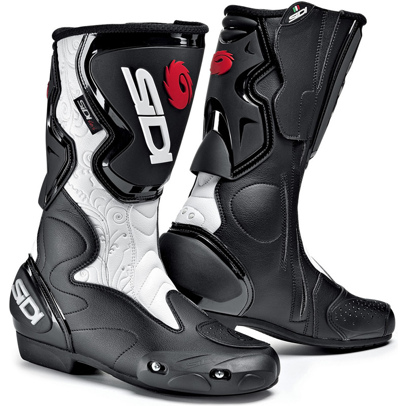 SIDI FUSION LEI LADIES MOTORBIKE MOTORCYCLE WOMENS SPORTS ROAD ...