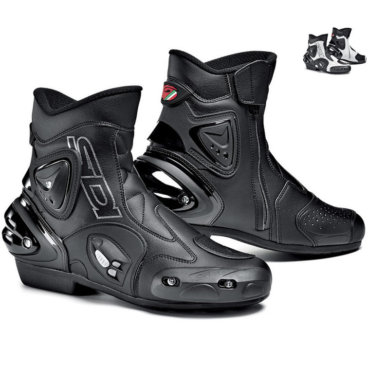 Sidi Apex Short Motorcycle Boots