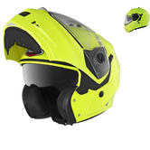 Caberg Duke Hi-Viz Motorcycle Flip Up Helmet