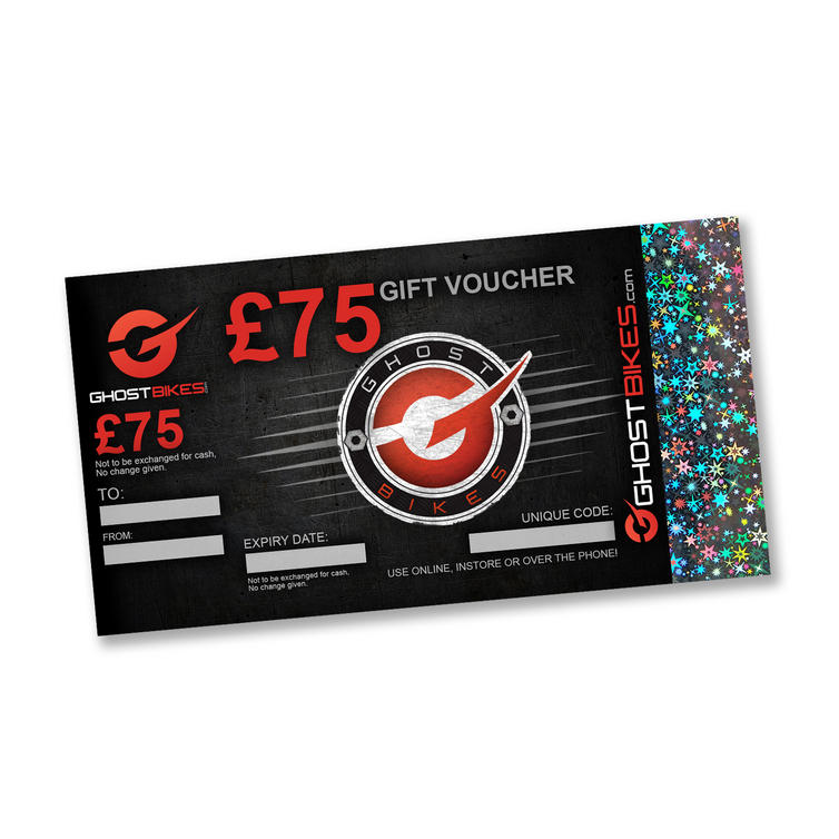 GHOSTBIKES GIFT VOUCHER �75.00