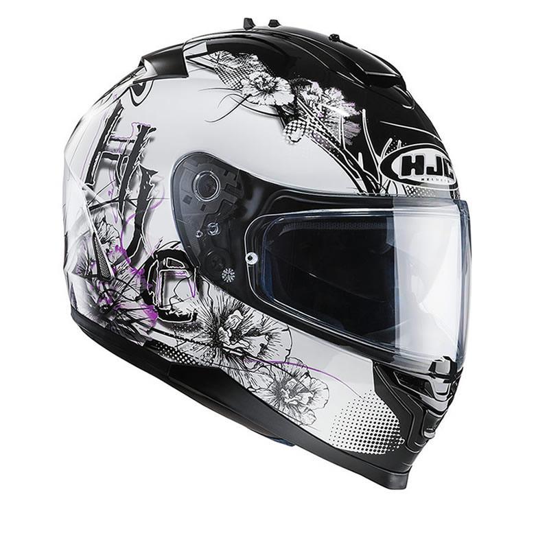 HJC IS-17 Barbwire Ladies Motorcycle Helmet