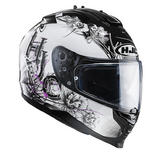 HJC IS-17 Barbwire Ladies Motorcycle Helmet