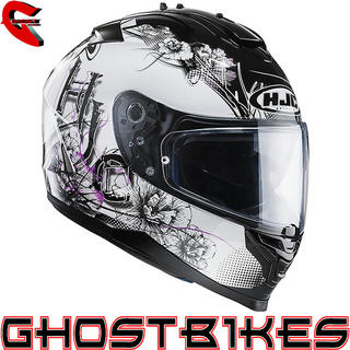 View Item HJC IS-17 Barbwire Motorcycle Helmet