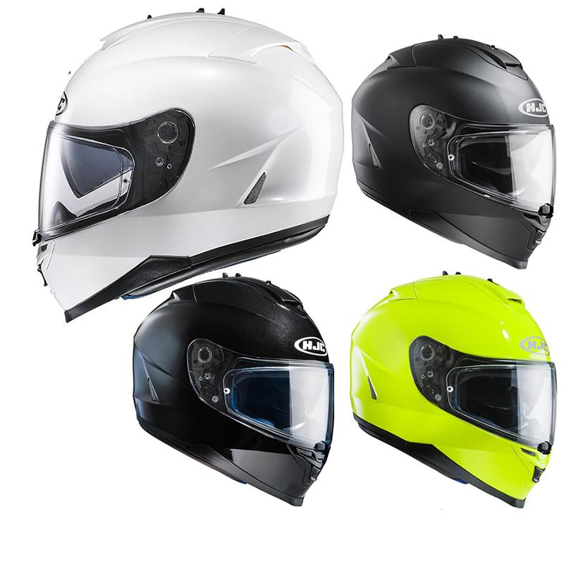 hjc is 17 plain motorcycle helmet full face helmets. Black Bedroom Furniture Sets. Home Design Ideas