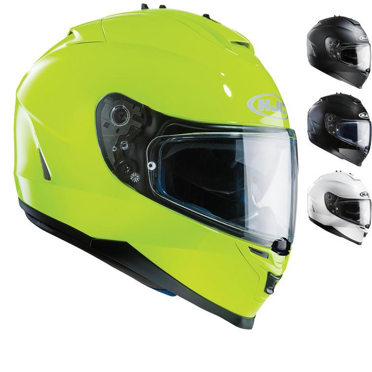 HJC IS-17 Plain Motorcycle Helmet