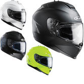 HJC IS-17 Plain Motorcycle Helmet