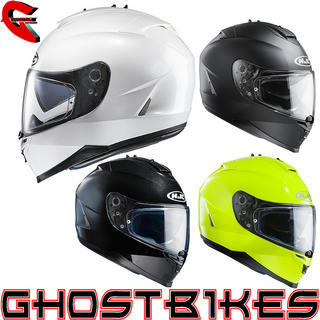 View Item HJC IS-17 Plain Motorcycle Helmet
