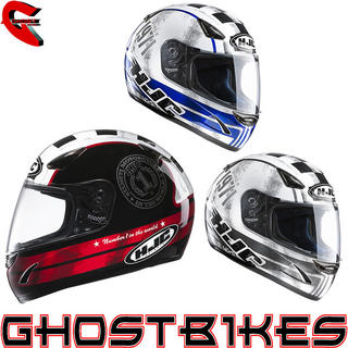 View Item HJC CS-14 Check 71 Motorcycle Helmet