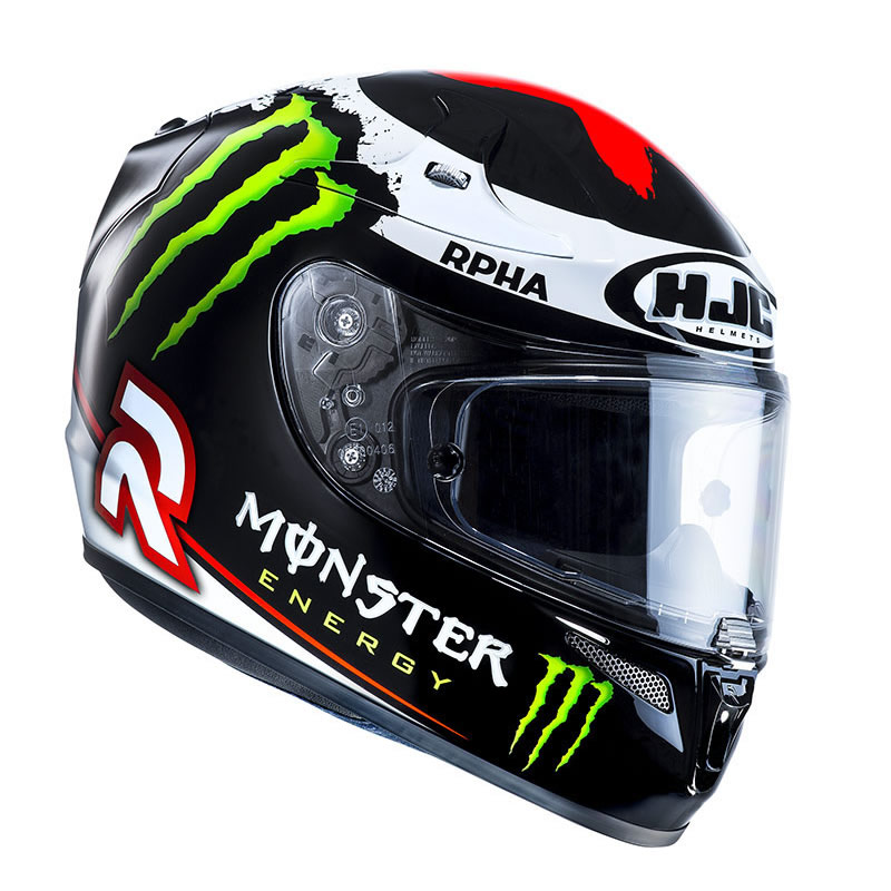 hjc r pha10 plus lorenzo 2013 monster energy moto gp. Black Bedroom Furniture Sets. Home Design Ideas