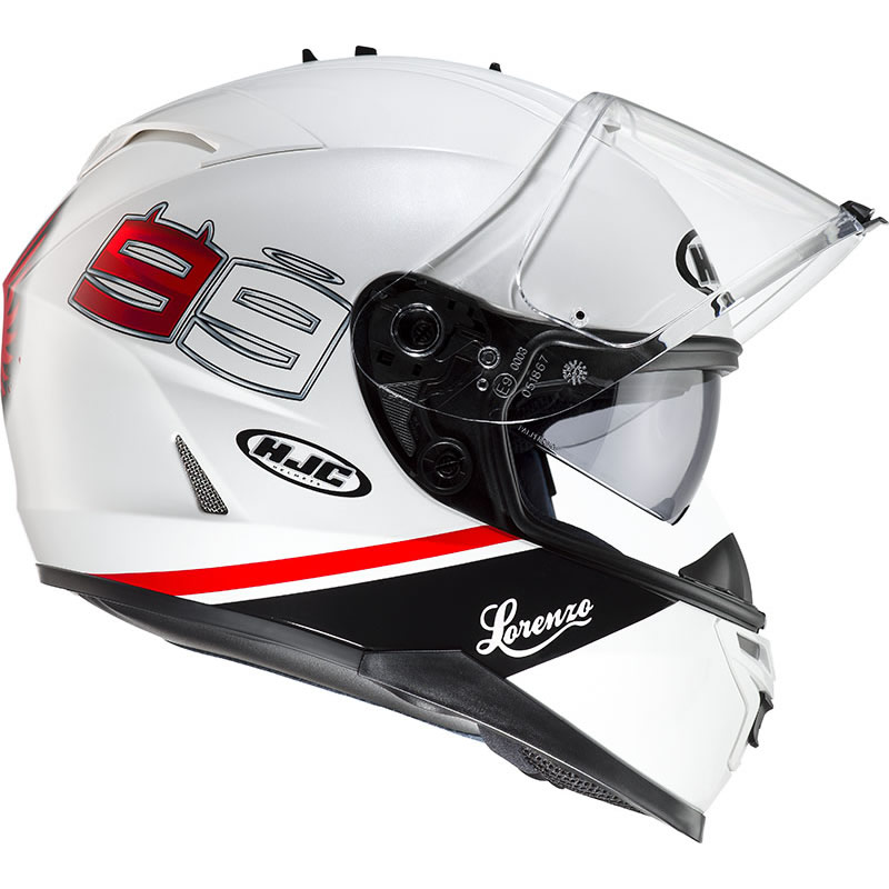 motorrad helm hjc is 17 jorge lorenzo 99 moto gp. Black Bedroom Furniture Sets. Home Design Ideas