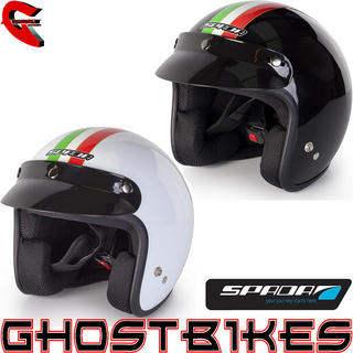View Item Spada Italia Open Face Motorcycle Helmet